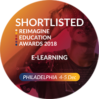 Reimagine Education Shortlisted